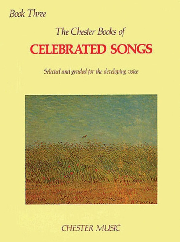 CELEBRATED SONGS BK 3 ED LEAH