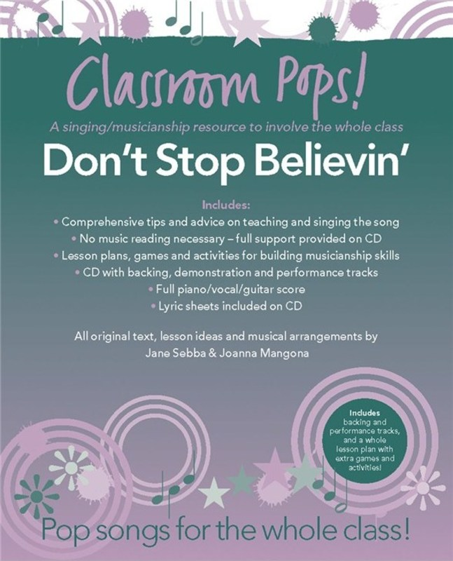 CLASSROOM POPS DON'T STOP BELIEVING BK/CD