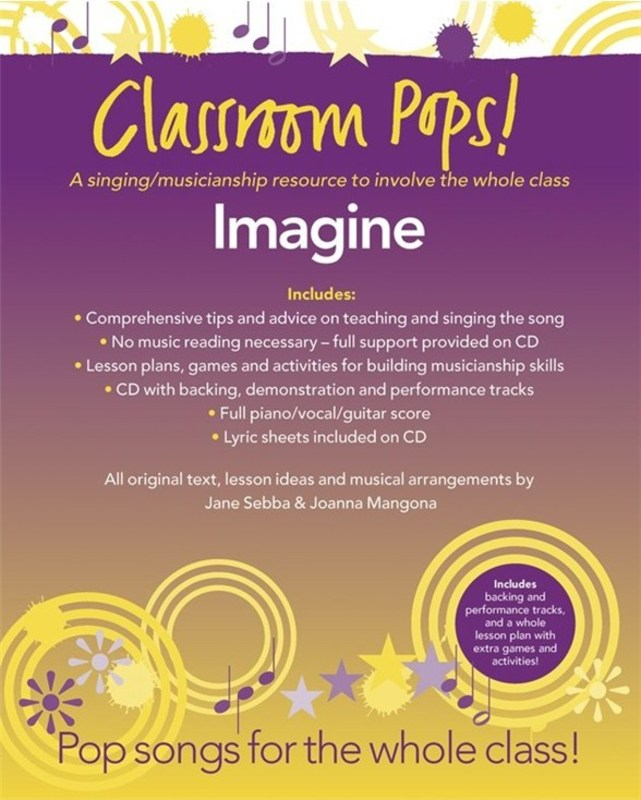 CLASSROOM POPS IMAGINE BK/CD