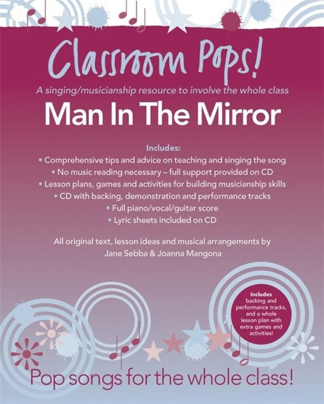 CLASSROOM POPS MAN IN THE MIRROR BK/CD