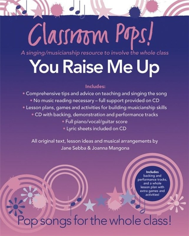 CLASSROOM POPS YOU RAISE ME UP BK/CD