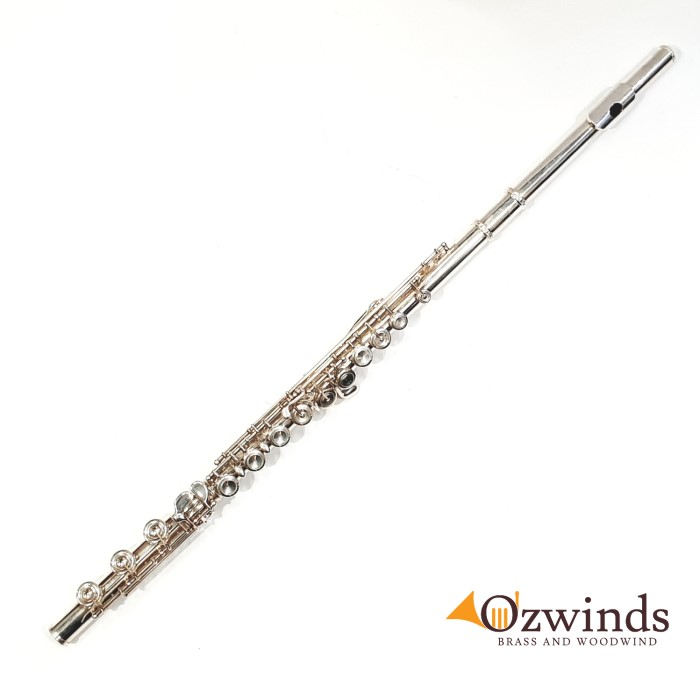 TWG Solid Silver Flute 700 Series II #690688 (Now Sold)
