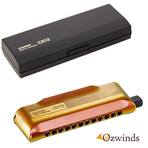 Hohner CX12 Chromatic Harmonica (Jazz - Key of C)