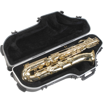 SKB Contoured Pro Baritone Sax Case with Wheels