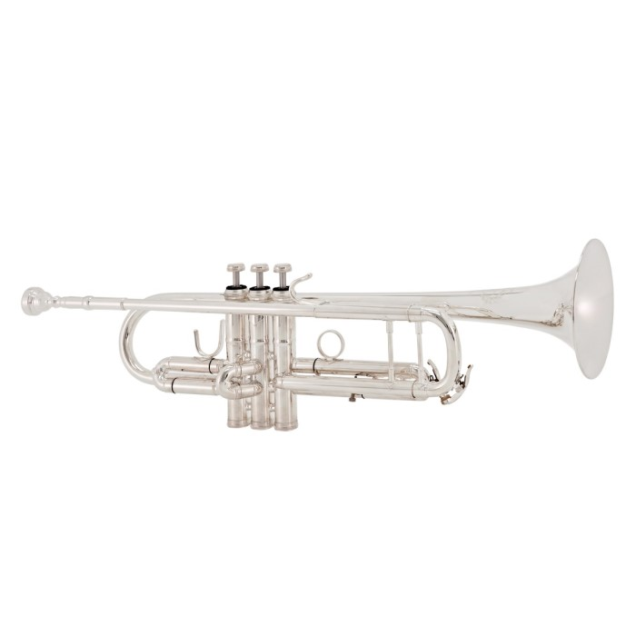 B & S Challenger II Bb Trumpet 3137/2 -S (Silver Plated)