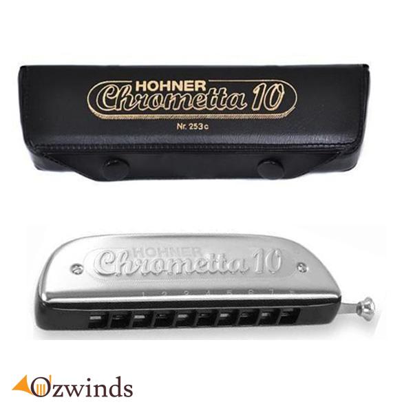 Hohner Chrometta 10 trous Harmonica