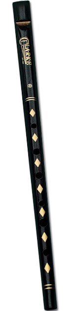 Clarke Original Tin Whistle key of D (black)