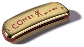 Hohner Comet Octave Tuned Harmonica - 16 Double Hole (32)