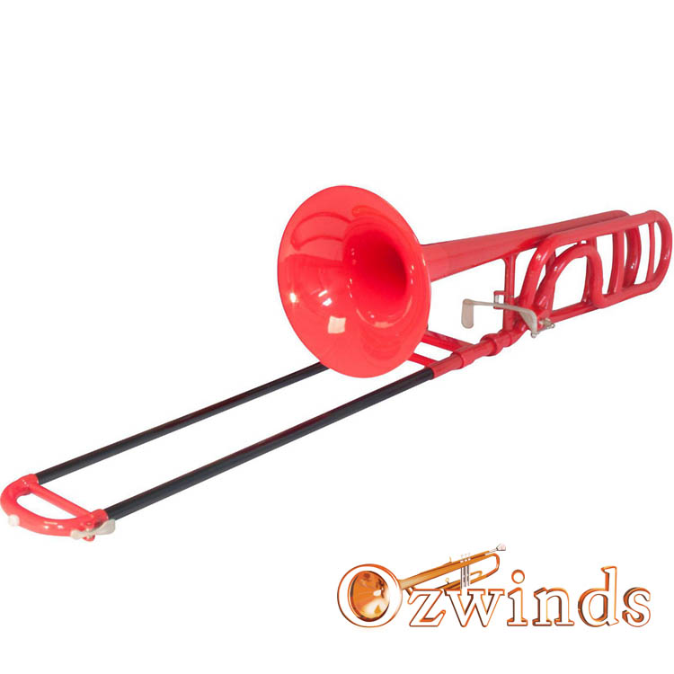 Cool Wind B-flat / F Trigger Trombone (Red, Blue or Black)