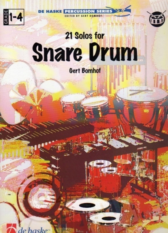 21 SOLOS FOR SNARE DRUM