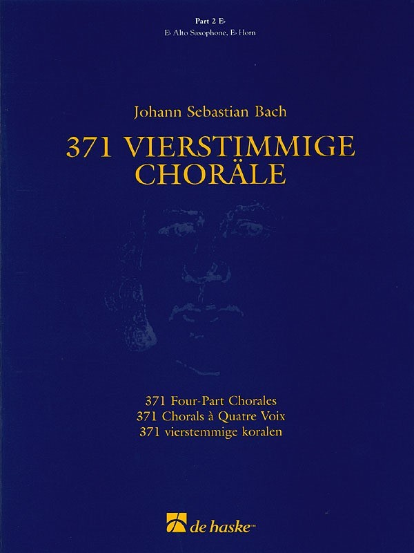 371 FOUR PART CHORALES PART 2 E FLAT TREBLE CLEF