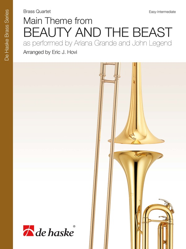 BEAUTY AND THE BEAST BRASS QUARTET SC/PTS