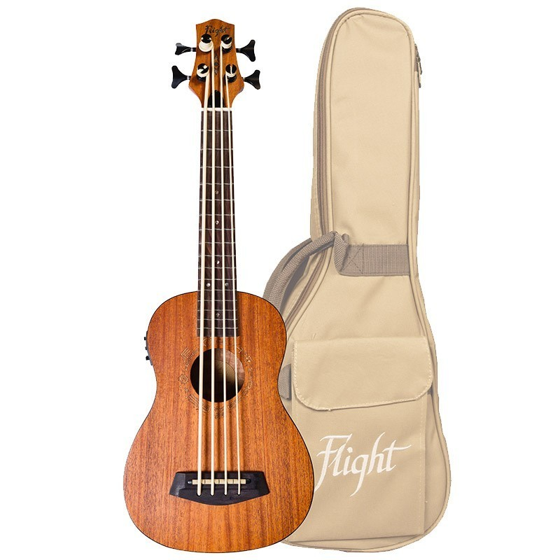 FLIGHT DUBS ELECTRO ACOUSTIC BASS UKE W/BAG