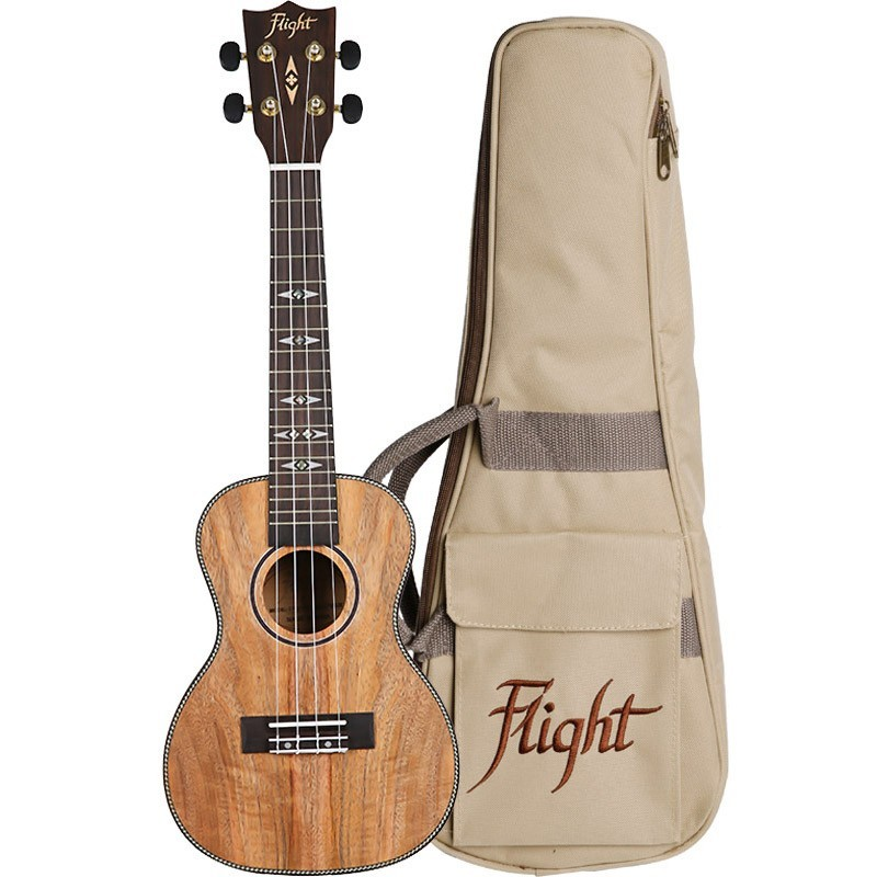 FLIGHT DUC450 CONCERT UKE MANGOWOOD W/BAG