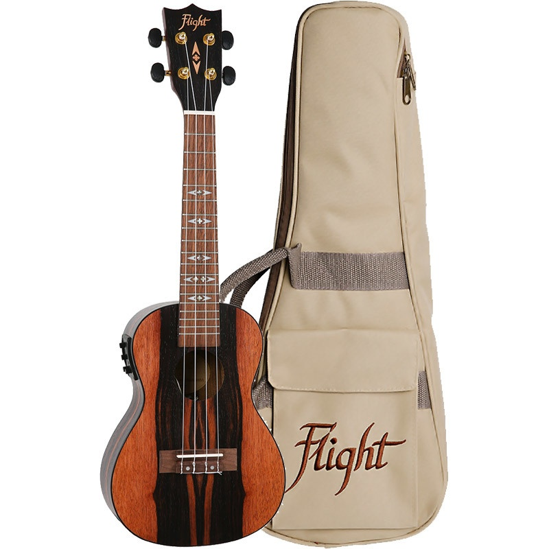 FLIGHT DUC460EQ AMARA ELECTRO ACOUSTIC CONCERT UKE