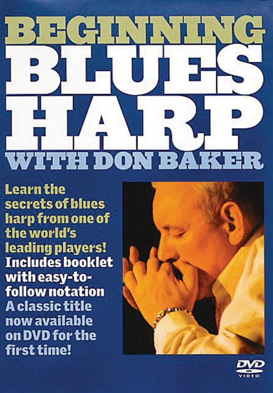BAKER D. BEGINNING BLUES HARP DVD