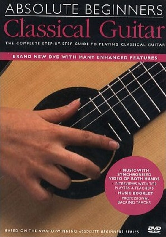 ABSOLUTE BEGINNERS CLASSICAL GUITAR DVD