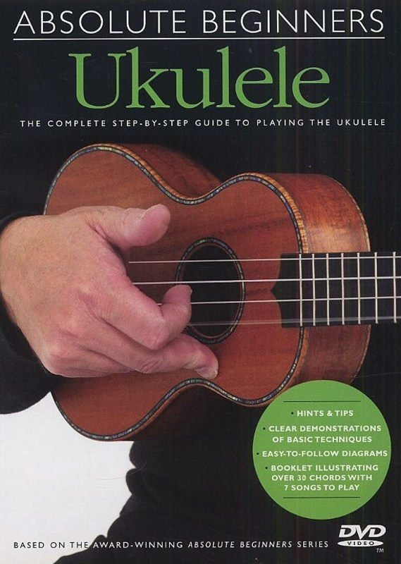 ABSOLUTE BEGINNERS UKULELE DVD