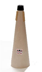 Denis Wick 5552 Straight Wooden Tenor Trombone Mute.