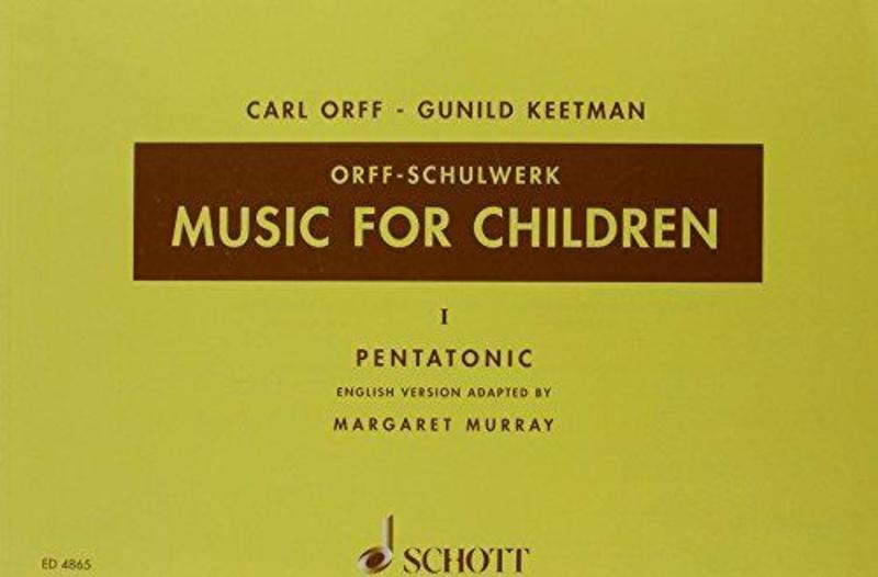 MUSIC FOR CHILDREN VOL 1 PENTATONIC ED MURRAY