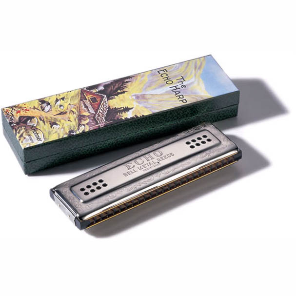Hohner Tremolo Double-Sided Echo Harmonica - 2 x 48