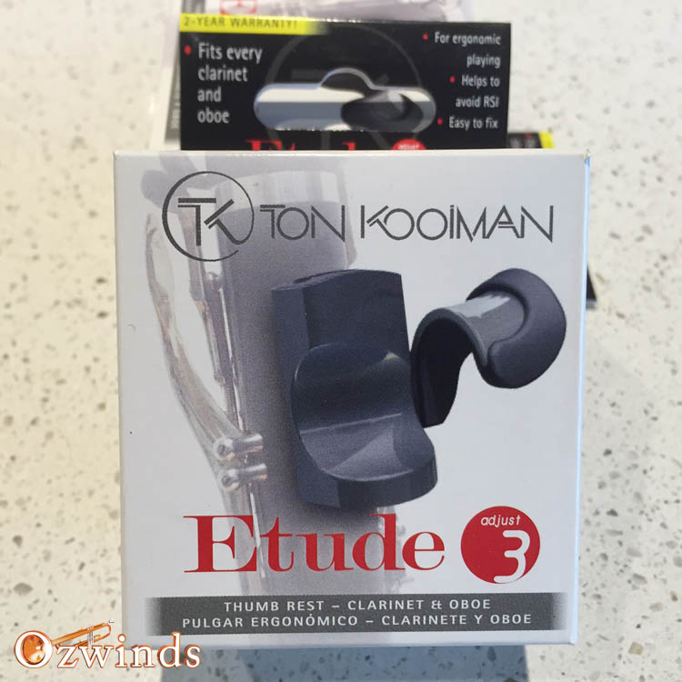 Ton Kooiman Etude 3 Thumb Rest For Oboe and Clarinet.