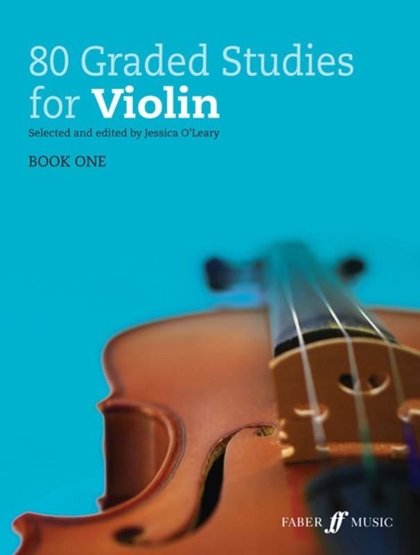 80 GRADED STUDIES FOR VIOLIN BK 1