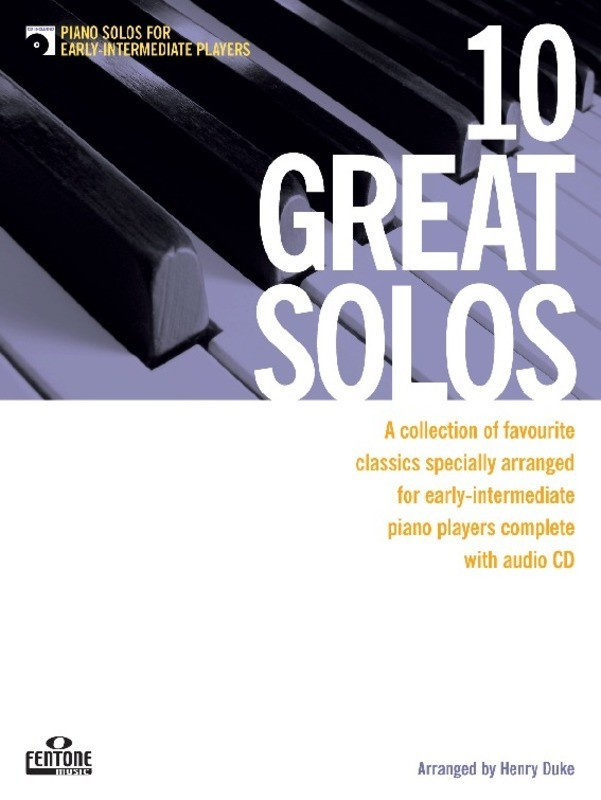 10 Great Solos Piano Early Intermediate Bk/cd