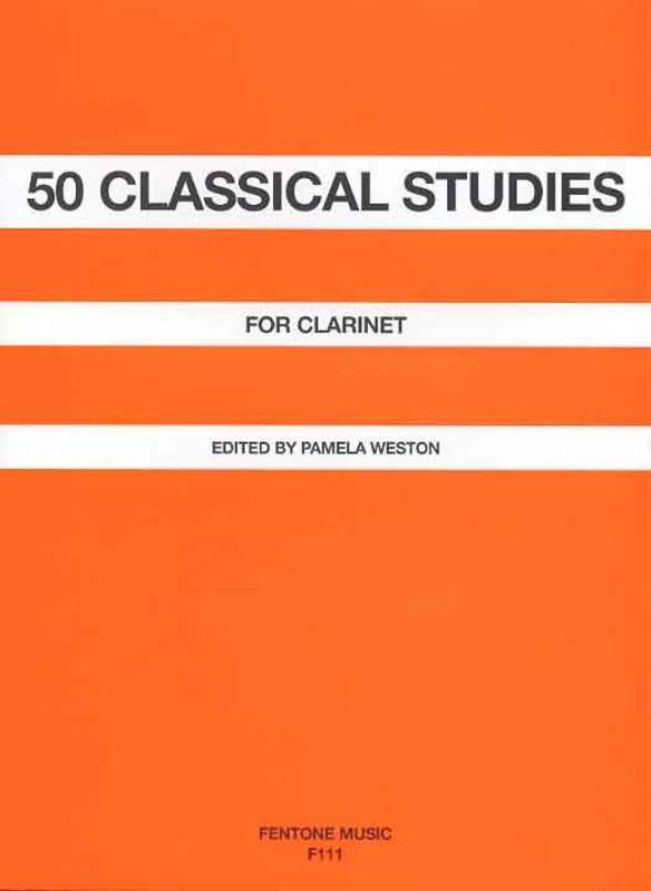 50 Classical Studies For Clarinet Edition - Weston