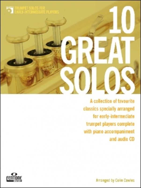 10 GREAT SOLOS TRUMPET EARLY INTERMEDIATE BK/CD