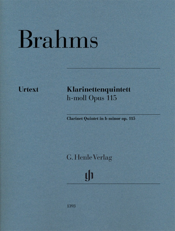 BRAHMS - CLARINET QUINTET B MINOR OP 115 PARTS