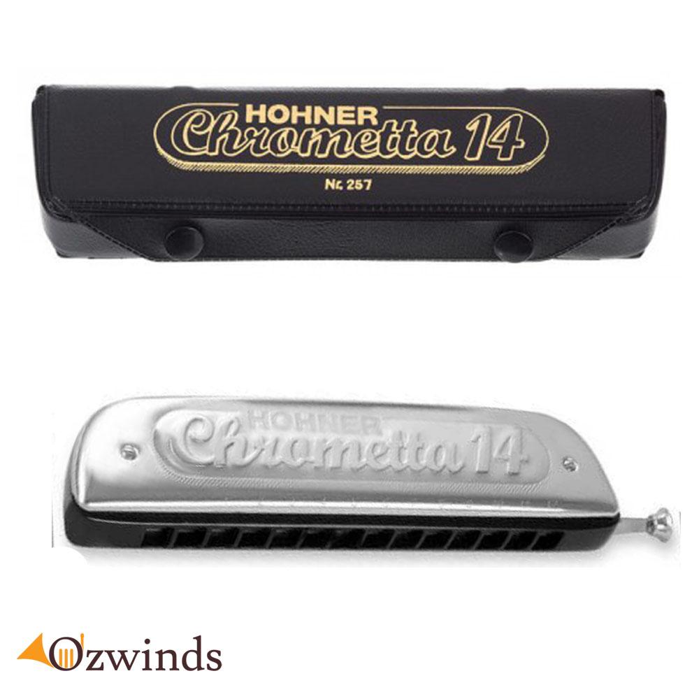 Hohner Chrometta 14 trous Harmonica