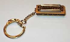 Hohner 109/8 Little Lady Key Chain Mini Harp