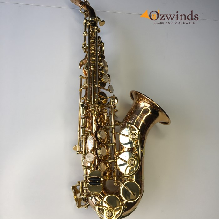 Yanagisawa 992 *NOW SOLD* curved soprano saxophone #00358350