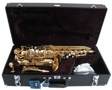Jupiter JAS-500 GL Alto Sax, Free Presale Set-Up