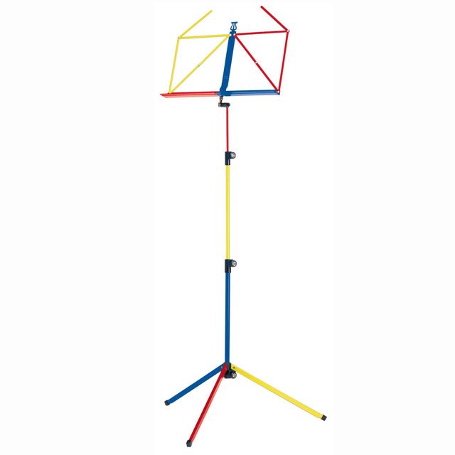 K&M 100/1 Folding Music Stand - 9 Various Colours
