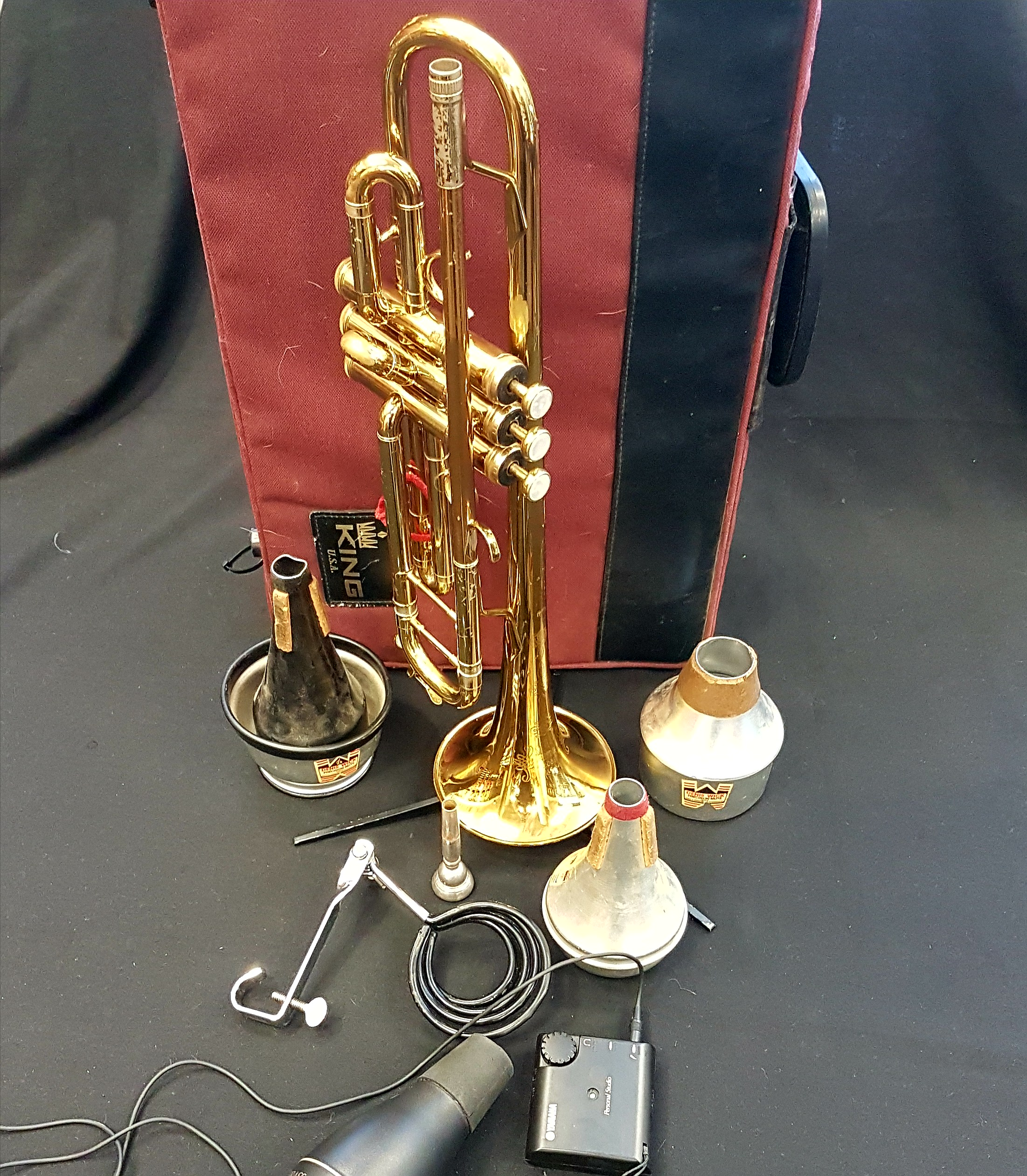 King Golden Flair Bb Trumpet #43 458718