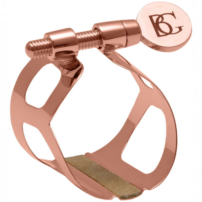 BG Tradition Rose Gold Clarinet Ligature with Cap - L39