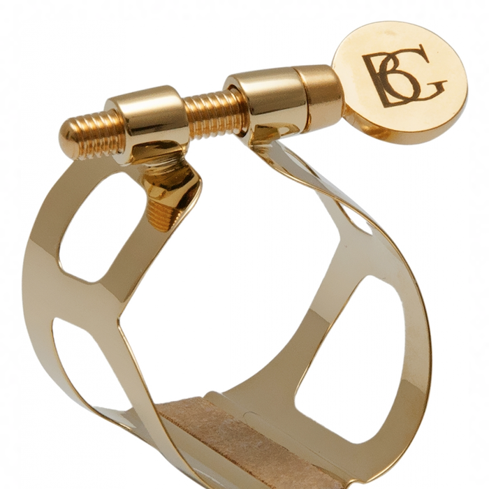 BG L91 Tradition Bass Clarinet Ligature - Gold Plate