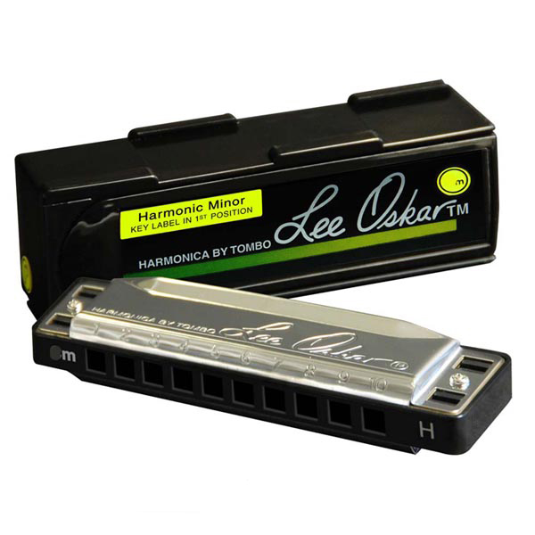 Lee Oskar Harmonic Minor Harmonica Key of A