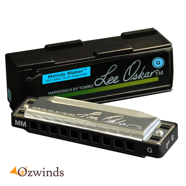 Lee Oskar Melody Maker Harmonica, Key of G