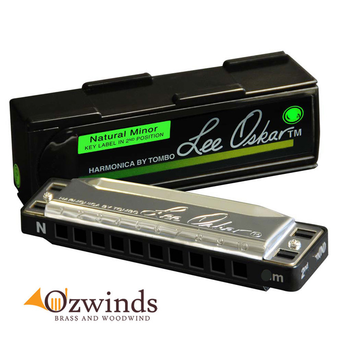 Lee Oskar Natural Minor Harmonica - Key of A