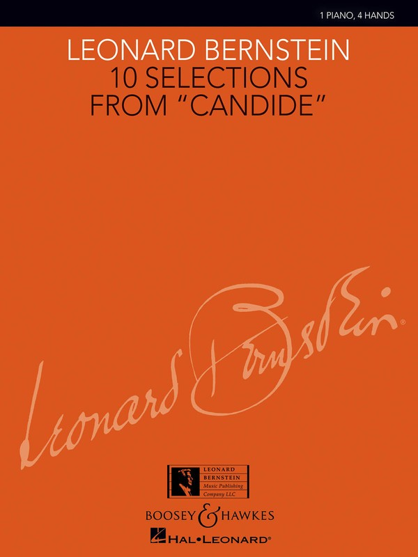10 SELECTIONS FROM CANDIDE INTERM PIANO DUETS