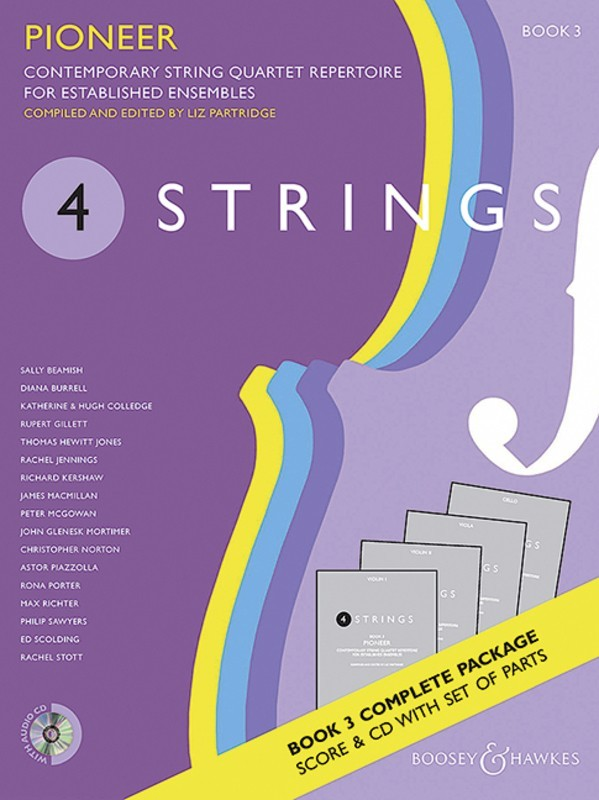 4 STRINGS - PIONEER BK 3 STRING QUARTET SC/PTS/CD