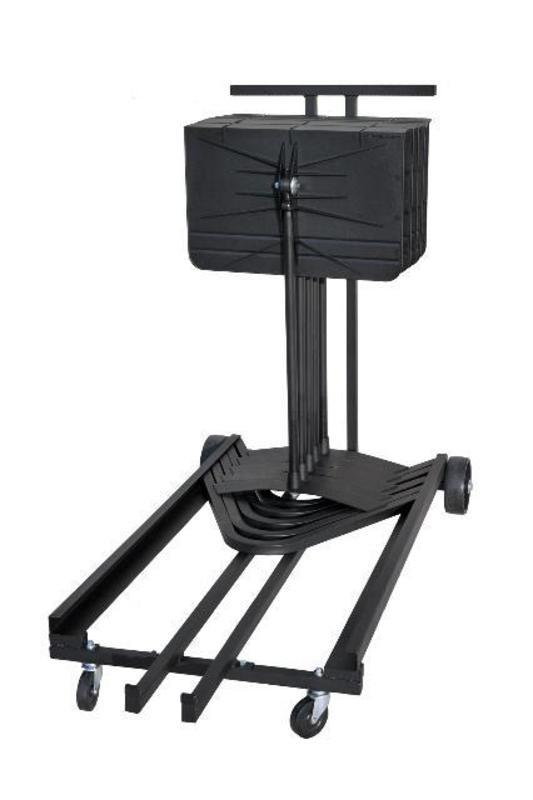 Harmony Music Stand Storage Cart Holds 15 Stands