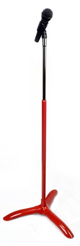 CHORALE MICROPHONE STAND RED