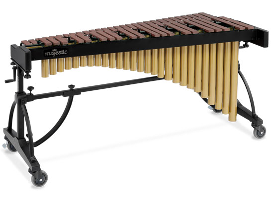Majestic 4 Octave Marimba With Synthetic Bars, Model - M6540P