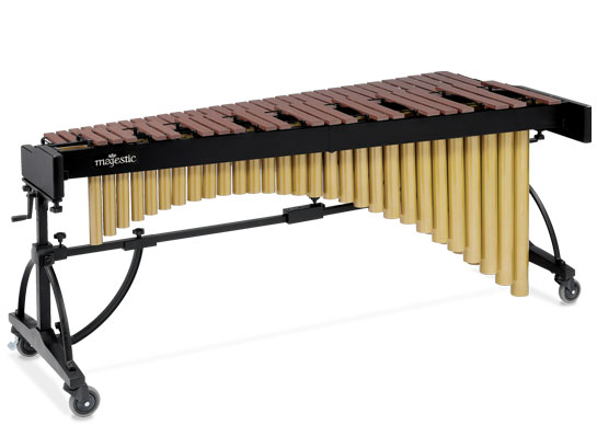 Majestic 4.3 Octave Marimba with Synthetic Bars - Model M6543P