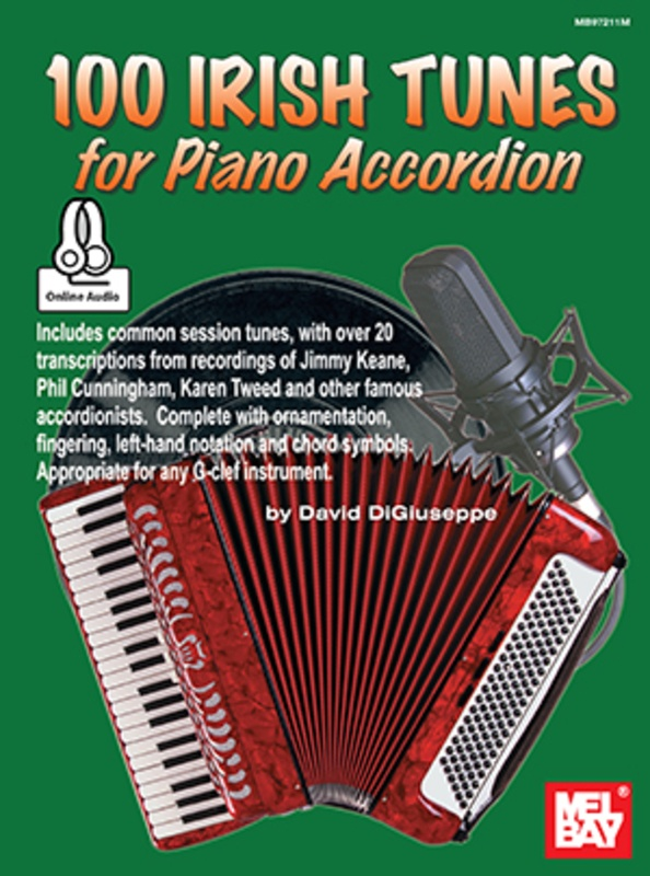 100 IRISH TUNES FOR PIANO ACCORDION BK/OA