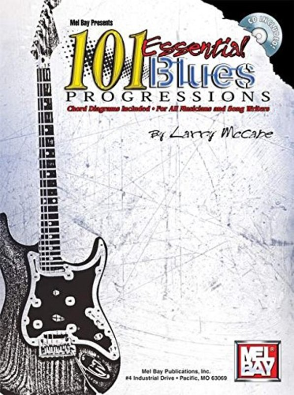 101 ESSENTIAL BLUES PROGRESSIONS BK/CD